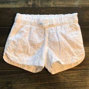Toddler Girl Cat & Jack White Shorts Size 5T